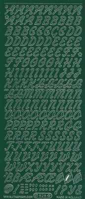 Zier-Sticker-Bogen-0826dgr-Alphabet-ABC-Schreibschrift 2