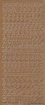 Zier-Sticker-Bogen-0826k-Alphabet-ABC-Schreibschrift 2