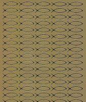 Spiegelsticker-Bogen-0946spg-christliche Motive-Fische -gold