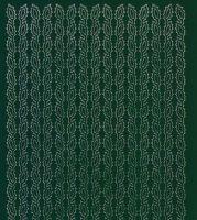 Zier-Sticker-Bogen-0976dgr-Ränder-Blätter-dunkelgrün