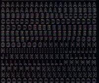 Zier-Sticker-Bogen-1000schw-Alphabet-ABC-Zahlen-mini-schwarz