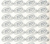 Micro-Glittersticker-0108gtrs-Eheringe-transparent/silber