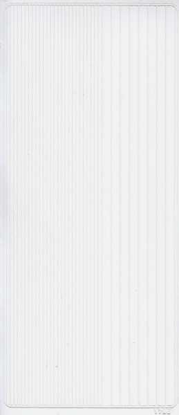 Zier-Sticker-Bogen-2400w-glatte Ränder-weiß