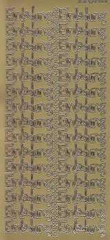 Zier-Sticker-Bogen-2558g-Einladung-moderne Schrift-gold