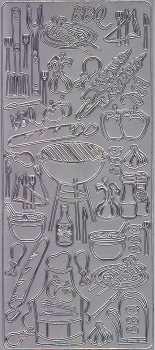 Zier-Sticker-Bogen-2800s-Grillparty-silber