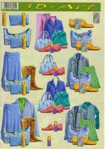 3D Etappen-Bogen-3DArt 19-Damen - Outfit