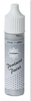Pontura - Paint - 10ml -Basisfarbe- 012 silber