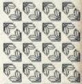 Zier-Sticker-Bogen-7052hog-kleine Ecken -holo-gold