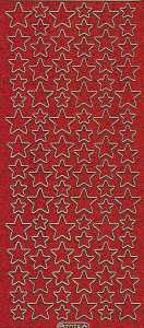 Micro-Glittersticker-7078grg-Sterne-rot-gold