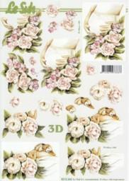 3D Etappen-Bogen-8215344 - Babybauch-Schwangere