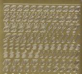 Zier-Sticker-Bogen-0825g-Alphabet-abc-Schreibschrift 2
