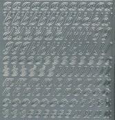 Zier-Sticker-Bogen-0825s-Alphabet-abc-Schreibschrift 2