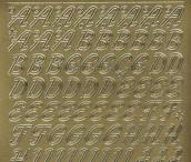 Zier-Sticker-Bogen-0826g-Alphabet-ABC-Schreibschrift 2