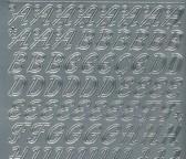 Zier-Sticker-Bogen-0826s-Alphabet-ABC-Schreibschrift 2
