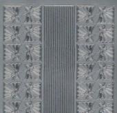 Zier-Sticker-Bogen-0981s-Stern-Ecken & Ränder