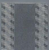 Zier-Sticker-Bogen-0984s-kleine Ecken und Ränder