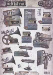 3D Etappen-Bogen-STSL 1317-Herrenmotive-Industrial-nostalgische Motive