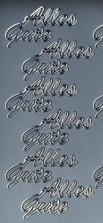 Zier-Sticker-Bogen-0027s-Alles Gute-silber