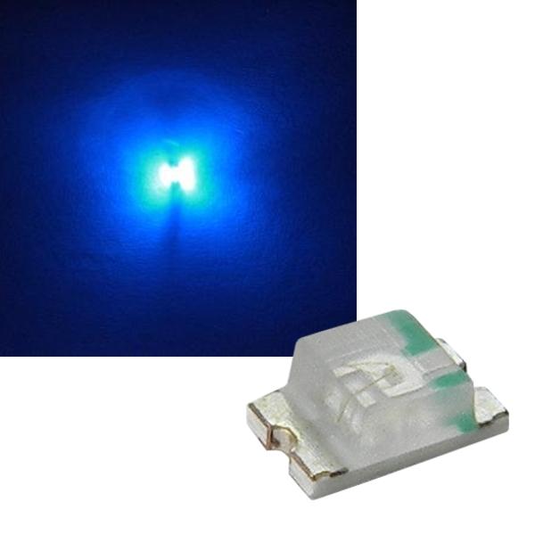 100 St/ück SMD LED 0805 Gr/ün