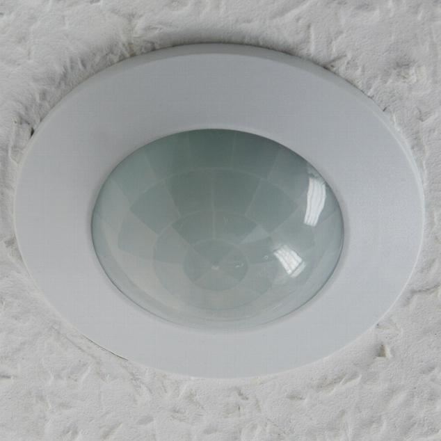 Decken-Bewegungsmelder 360° weiß 9m Detektion für DECKE