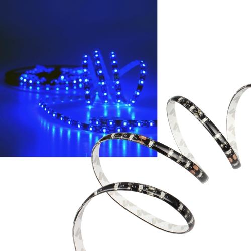 5m smd led leiste strip blau flexibel 12v mit 300 smds. Black Bedroom Furniture Sets. Home Design Ideas